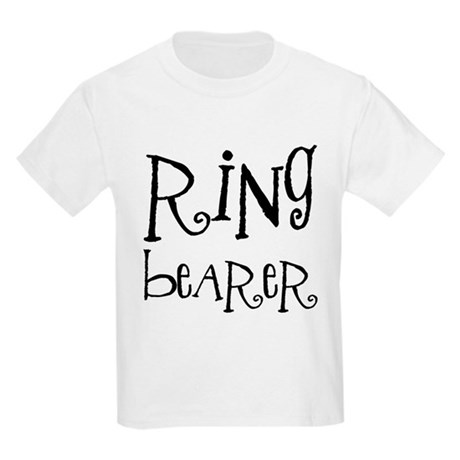 Ring Bearer Kids Light T-Shirt