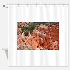 Bryce Canyon National Park, Utah, U Shower Curtain
