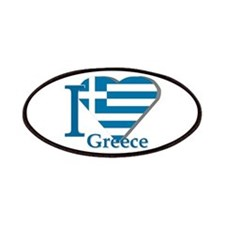 I love Greece Patches