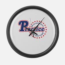 Philadelphia Practice Large Wall Clock