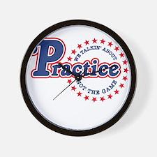 Philadelphia Practice Wall Clock