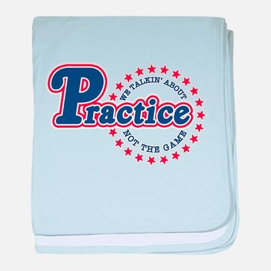 Philadelphia Practice baby blanket