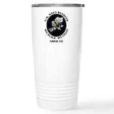 Cute Navy seabees Travel Mug