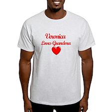 Veronica Loves Grandma T-Shirt