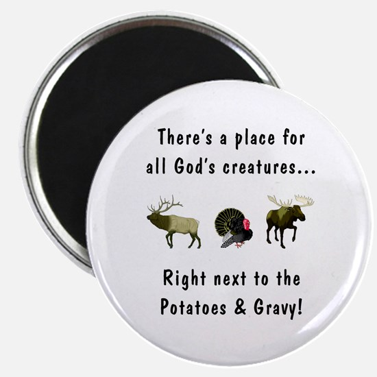 All God's Creatures Magnet