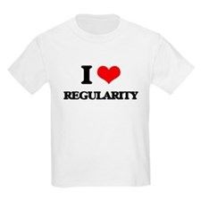 I Love Regularity T-Shirt