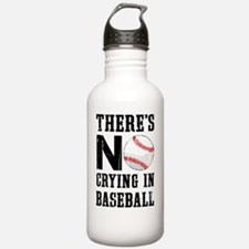 No Crying In Baseball Water Bottle