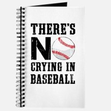 No Crying In Baseball Journal