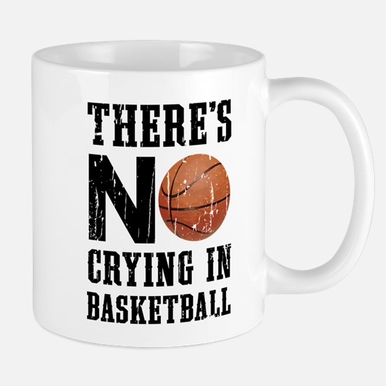 No Crying In Basketball Mugs