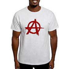anarchy symbol (red) T-Shirt