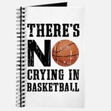 No Crying In Basketball Journal
