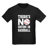 Baseball Kids T-shirts (Dark)