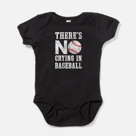 No Crying in Baseball Baby Bodysuit