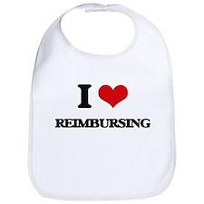 I Love Reimbursing Bib