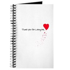 Thank you for Loving Me Journal