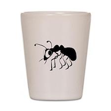 Cartoon Ant Shot Glass