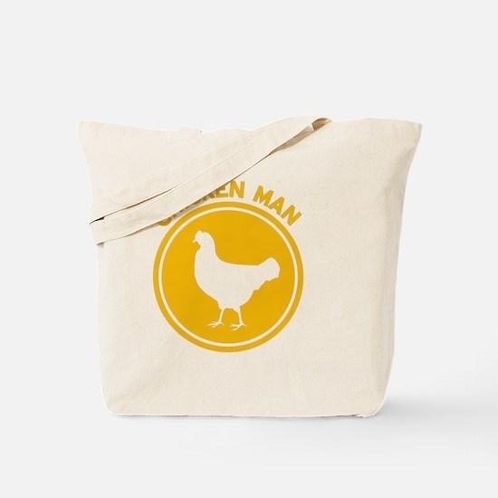 Chicken Man Tote Bag