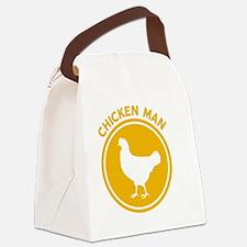 Chicken Man Canvas Lunch Bag