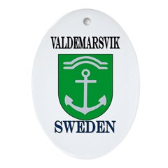The Valdemarsvik Store Oval Ornament