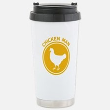 Chicken Man Stainless Steel Travel Mug
