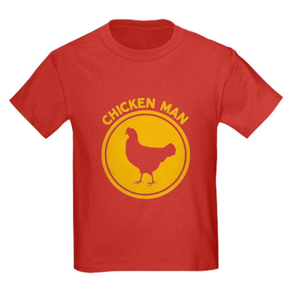1452737097 CafePress Chicken Man T Shirt Kids Cotton T-shirt