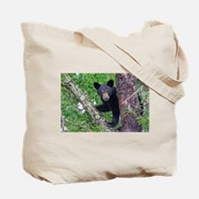 I SEE YOU - Baby Black Bear Tote Bag
