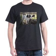 Twin Kids In The Woods T-Shirt