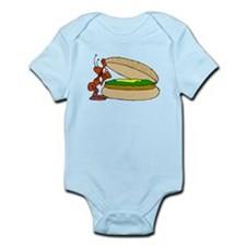 Ant And Cheeseburger Body Suit