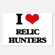 I Love Relic Hunters Postcards (Package of 8)