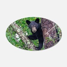 I SEE YOU - Baby Black Bear Wall Decal