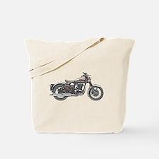 Enfield Motorcycle Tote Bag