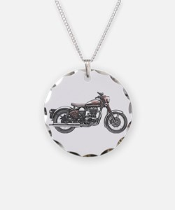 Enfield Motorcycle Necklace