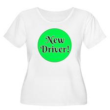 New Driver Plus Size T-Shirt