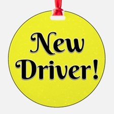 New Driver Ornament