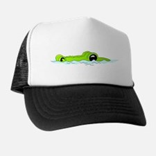 Alligator Head Trucker Hat