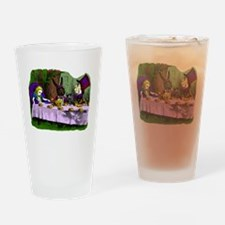tea party Mad Hatter Drinking Glass