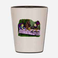 tea party Mad Hatter Shot Glass