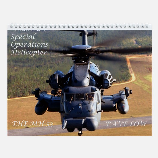 MH-53 Pave Low Wall Calendar