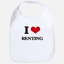 I Love Renting Bib