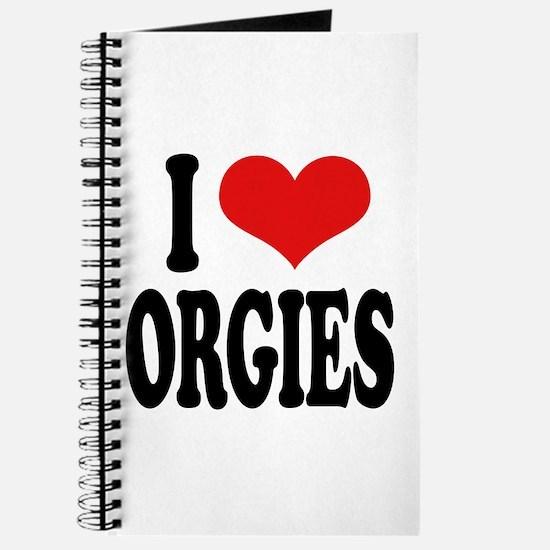 I Love Orgies Journal