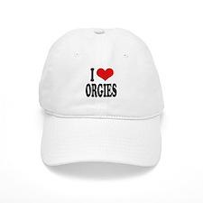 I Love Orgies Baseball Cap