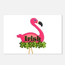 Irish Flamingo Postcards (Package of 8)