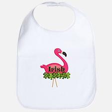 Irish Flamingo Bib