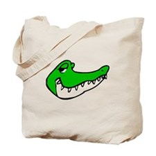 Alligator Face Tote Bag