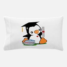 Graduation Penguin (2) Pillow Case