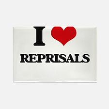 I Love Reprisals Magnets