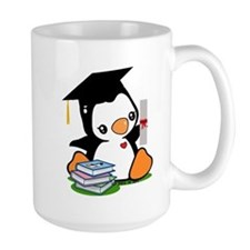 Graduation Penguin (2) Mug