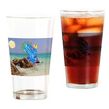 Julia's Beach Dragon Drinking Glass