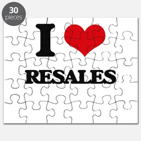 I Love Resales Puzzle