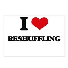 I Love Reshuffling Postcards (Package of 8)
